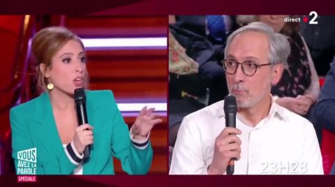 Déontologie de Léa Salamé: son invité anti-grève était l'époux d'une maire pro-LREM