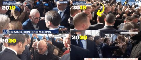 Salon de l'agriculture: Macron emploierait-il des figurants pour parler avec lui?