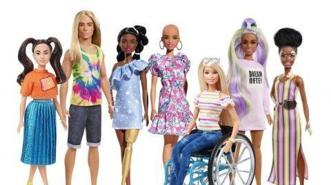Barbie chauve, avec prothèse ou en chaise roulante: Mattel sort sa nouvelle gamme inclusive !