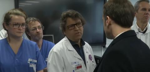 « Nous sommes au bout », un médecin interpelle Macron sur l'état des hôpitaux publics