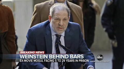 Harvey Weinstein jugé coupable de viol : il risque entre 5 et 29 ans de prison