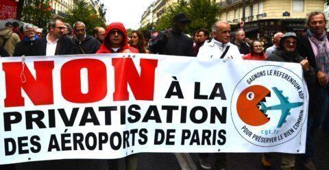 VICTOIRE! ADP devrait échapper à la privatisation!