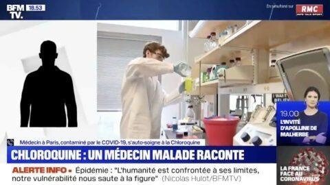 Un médecin infecté dit s'être auto-administré de la Chloroquine et s'être rétabli en 24h