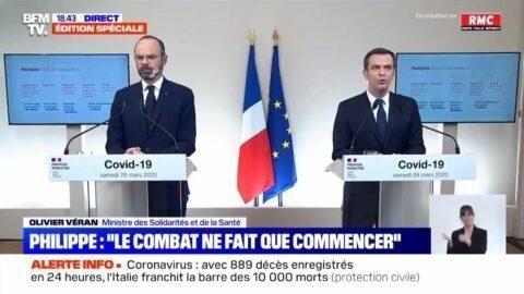 Édouard Philippe : « Je ne laisserai personne dire qu'il y a eu du retard sur les prises de décision »