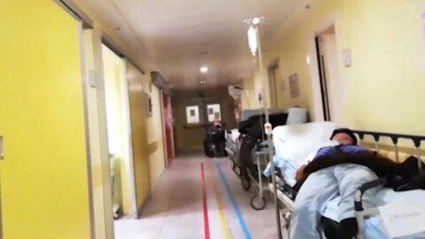 """Vidéo d'un hôpital en Italie : """"c'est l'horreur absolue, l'effondrement total d'un système"""""""