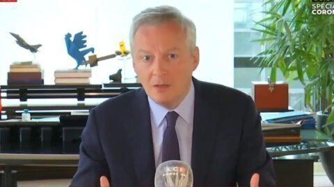 Déconfinement : Bruno Le Maire appelle «un maximum de Français» à reprendre le travail le 11 mai