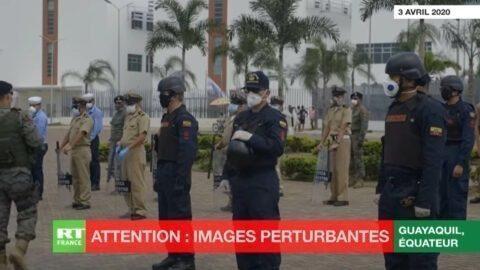 Equateur : à Guayaquil, où la situation est dramatique, des corps gisent dans les rues