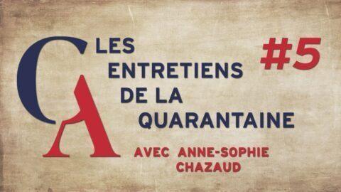 """Anne-Sophie Chazaud : """"Il est inconcevable que ces gens gardent la main sur le monde d'après"""""""