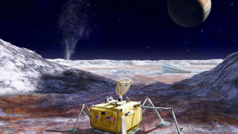 De l'eau jaillirait à la surface d'une lune de Jupiter !