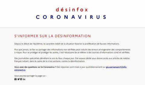 """«Desinfox»: le gouvernement veut certifier les """"bons"""" articles de presse"""