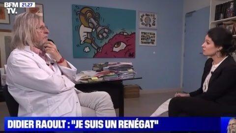 Didier Raoult se confie à Apolline de Malherbe sur BFMTV