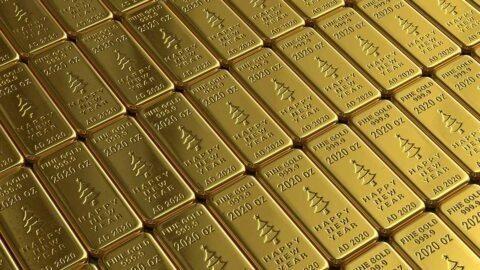 Pour information : les géants de la finance se ruent sur l'or