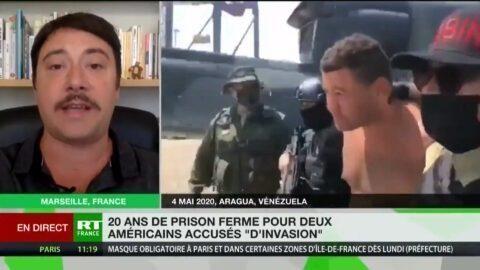 Deux Américains condamnés au Venezuela : « Leur but était de déclencher une guerre civile » (VIDÉO)