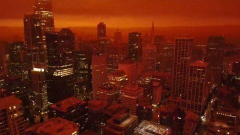 Le ciel de San Francisco prend une teinte apocalyptique suite à de monstrueux incendies